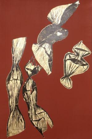 Литография Benglis - Dual Nature (Brown)