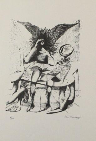 Литография Zimmermann - Durch ein Nadelöhr I / Through a Needle's Eye I
