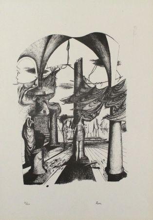 Литография Zimmermann - Durch ein Nadelöhr II / Through a Needle's Eye II