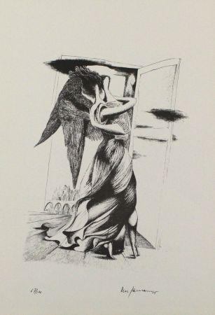 Литография Zimmermann - Durch ein Nadelöhr III / Through a Needle's Eye III
