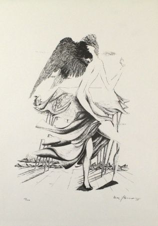 Литография Zimmermann - Durch ein Nadelöhr IV / Through a Needle's Eye IV
