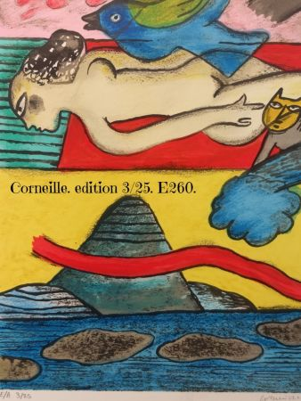 Литография Corneille - EA 3/25