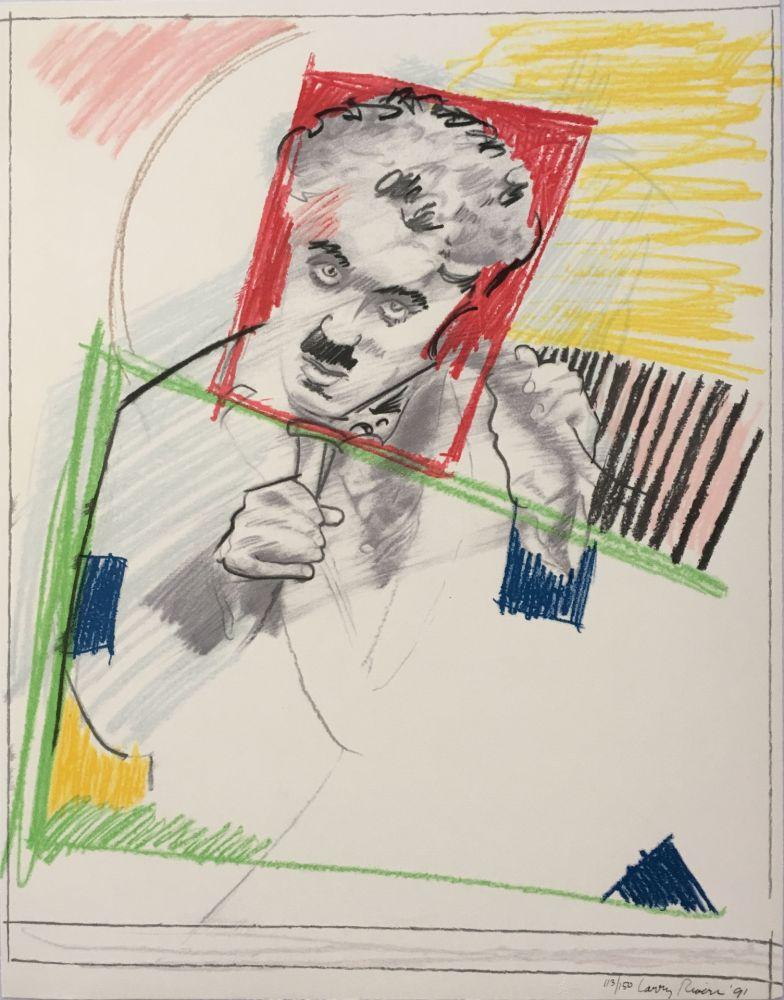 Сериграфия Rivers - Early Chaplin