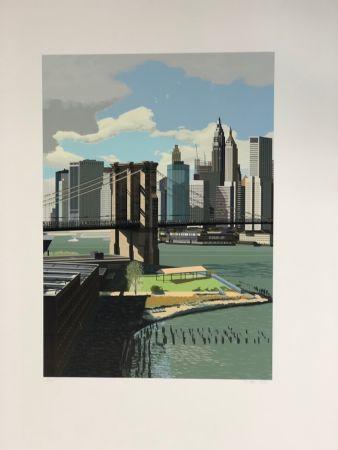 Многоэкземплярное Произведение Estes - East River, New York
