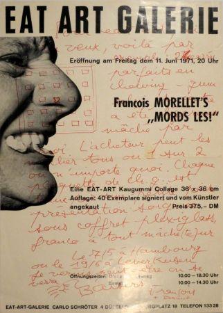 "Гашение Morellet - Eat Art Gallery Carlo Schröter. Francois Morellet's ""Mords Les!"""