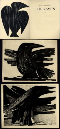 Иллюстрированная Книга Prassinos - Edgar Allan Poe. THE RAVEN