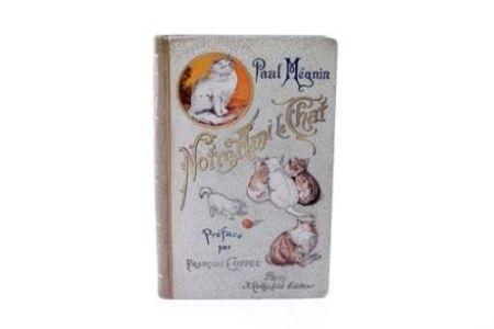 Иллюстрированная Книга Manet - Edouard Manet/ Paul Mégnin. Notre ami le chat. 1899.