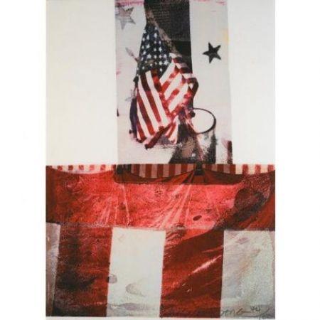 Литография Rauschenberg - Edward Kennedy Campaign