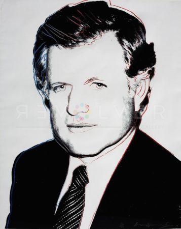 Сериграфия Warhol - Edward Kennedy (FS II.240)