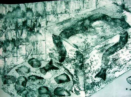 Гравюра Barcelo - Eels
