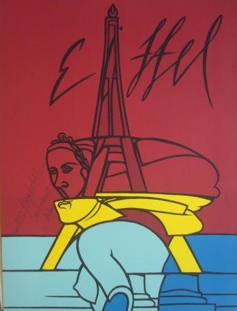 Литография Adami - Eiffel