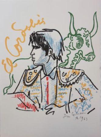 Литография Cocteau - El cordobes