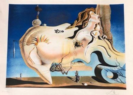 Гравюра Dali - El gran masturbador
