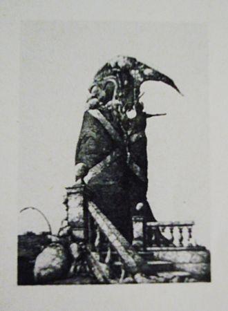 Офорт И Аквитанта Hernandez - El monumento inacabado