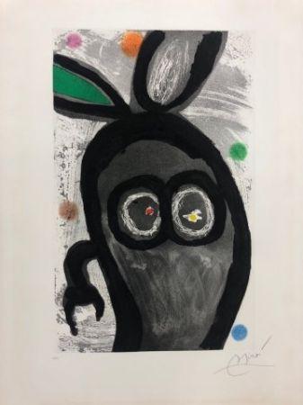 Офорт И Аквитанта Miró - El rey de los conejos
