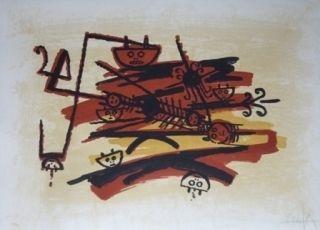 Литография Lam - El ultimo viaje del buque fantasma