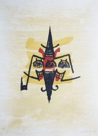 Литография Lam -  El ultimo viaje del buque fantasma - 12
