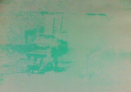 Сериграфия Warhol - Electric Chair (FS II.80)