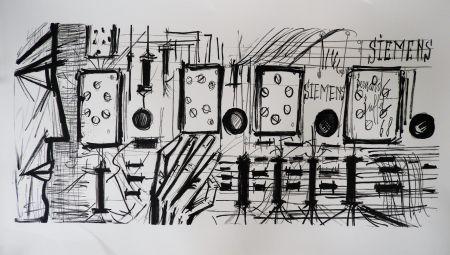 Литография Buffet - Electronic Circuits, Siemens,