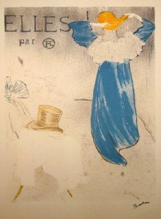 Литография Toulouse-Lautrec - Elles