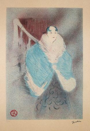 Литография Toulouse-Lautrec - Elsa la viennoise