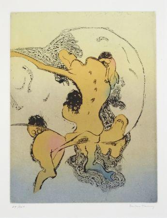 Литография Tanning - En chair et en os