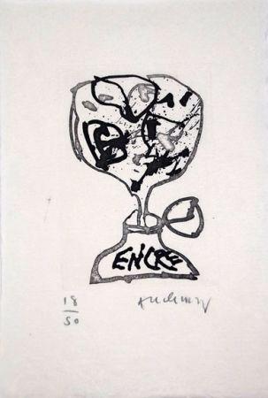 Иллюстрированная Книга Alechinsky - Encre (Lettre Suit -