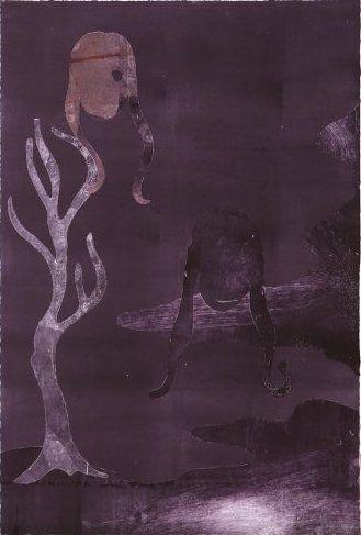 Монотип Ikemura - Ensayos de la sombra 3