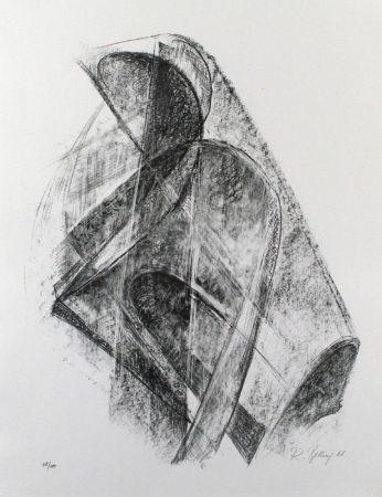 Литография Belling - Entwurf für eine Plastik