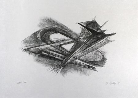 Литография Belling - Entwurf für Metallplatten und Draht I