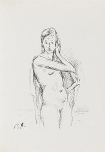 Иллюстрированная Книга Auberjonois - Enveloppes.  20 Lithographies Originales De René Auberjonois