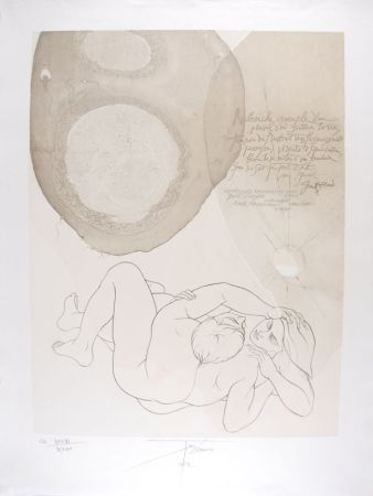 Литография Trémois - Envol VII