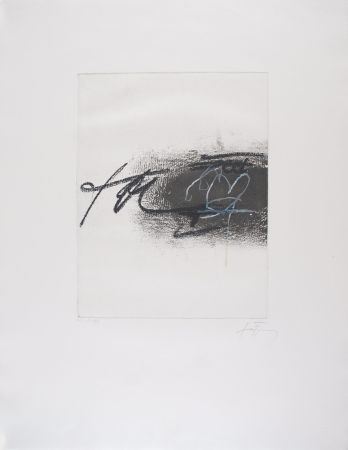 Офорт Tapies - EQUATION II
