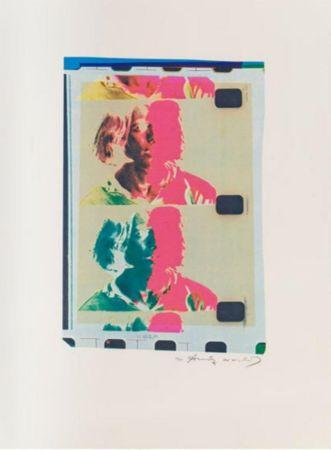 Литография Warhol - Eric Anderson (Chelsea Girls)