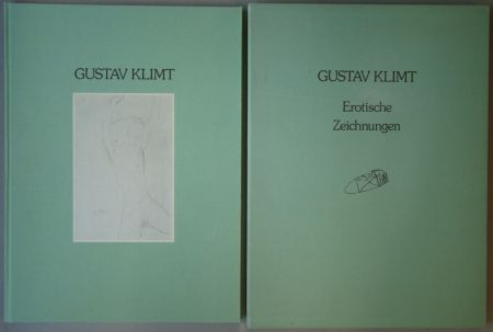 Иллюстрированная Книга Klimt - Erotische Zeichnungen. Drawings Against Morality