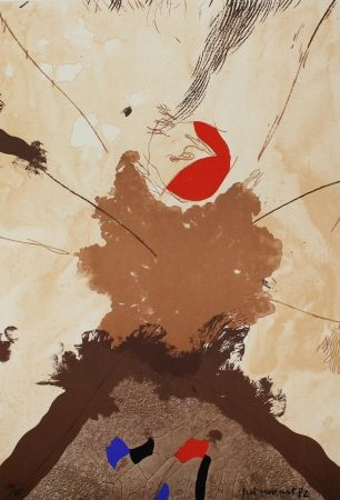 Литография Guinovart - Esclat ocell