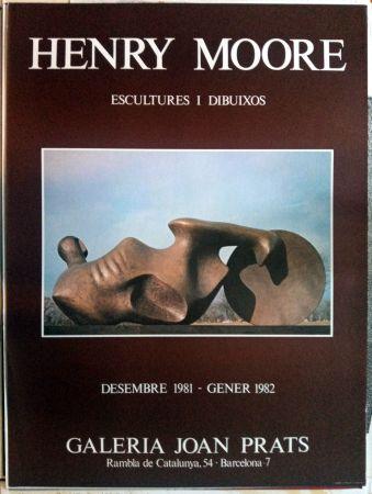 Афиша Moore - Escultures i Dibuixos