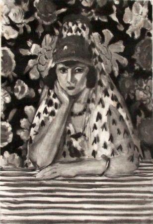 Гравюра Matisse - Espagnole