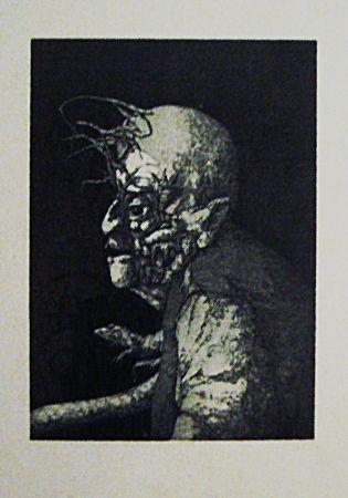 Офорт И Аквитанта Hernandez - Espectro del miedo