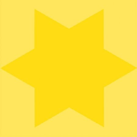 Сериграфия Mosset - Etoile jaune