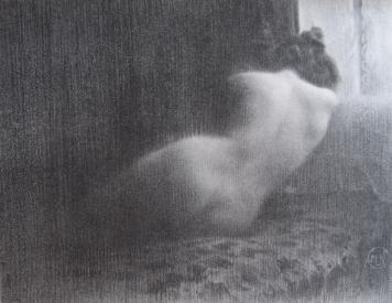 Литография Neumont - Etude / Boudeuse