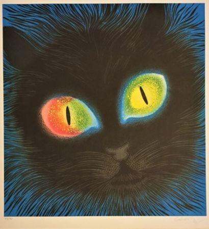 Литография Vasarely - Etude de Lumiére