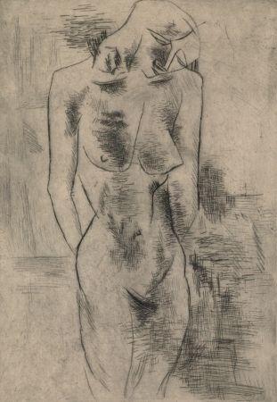 Гравюра Braque - Etude de nu