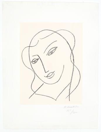 Литография Matisse - Etude pour la Vierge,