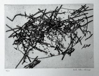 Гравюра Celan Lestrange - Expansion