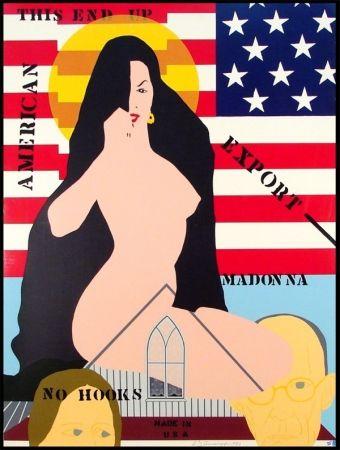 Сериграфия D'arcangelo - Export Madonna