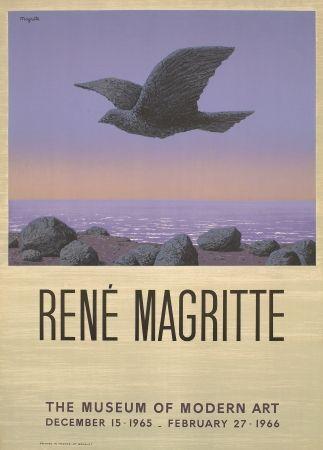 Литография Magritte - Exposition au MOMA