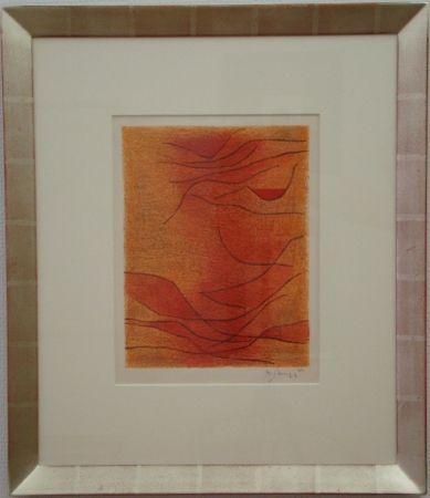 Литография Singier - Exposition Galerie de France