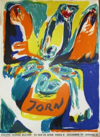 Афиша Jorn - Exposition Galerie Jeanne Bucher 70-71