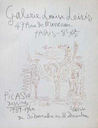 Литография Picasso - Exposition louise leiris 1960